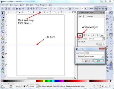 How To Create A Custom Greeting Card In Inkscape Scrapbook Tutorial Tutorial Lettering