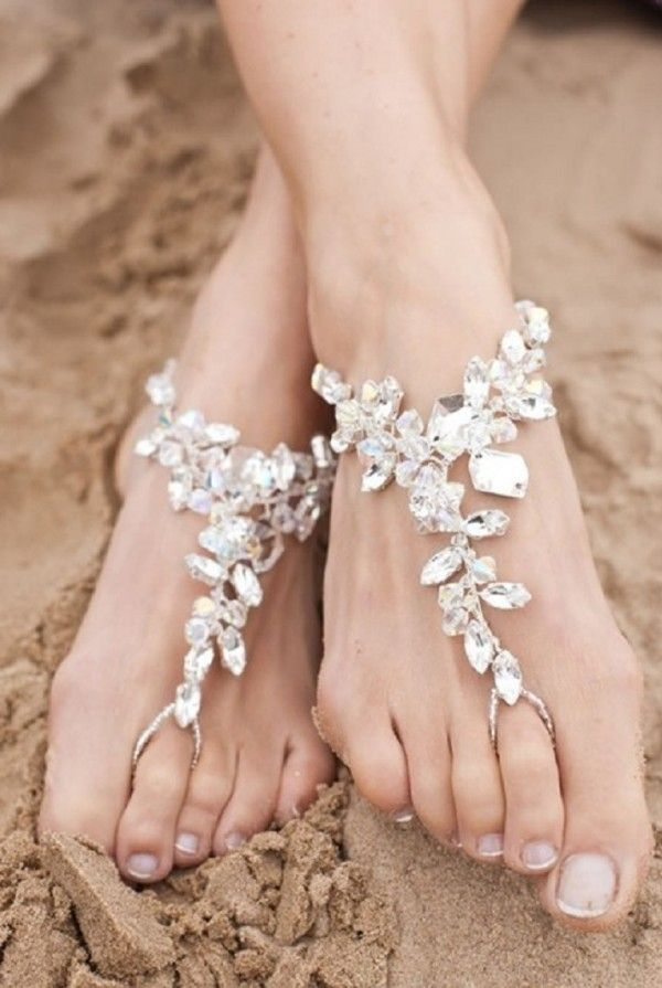 Bridal Barefoot Sandal For Your Upcoming Beach Wedding Www Loveitsomuch