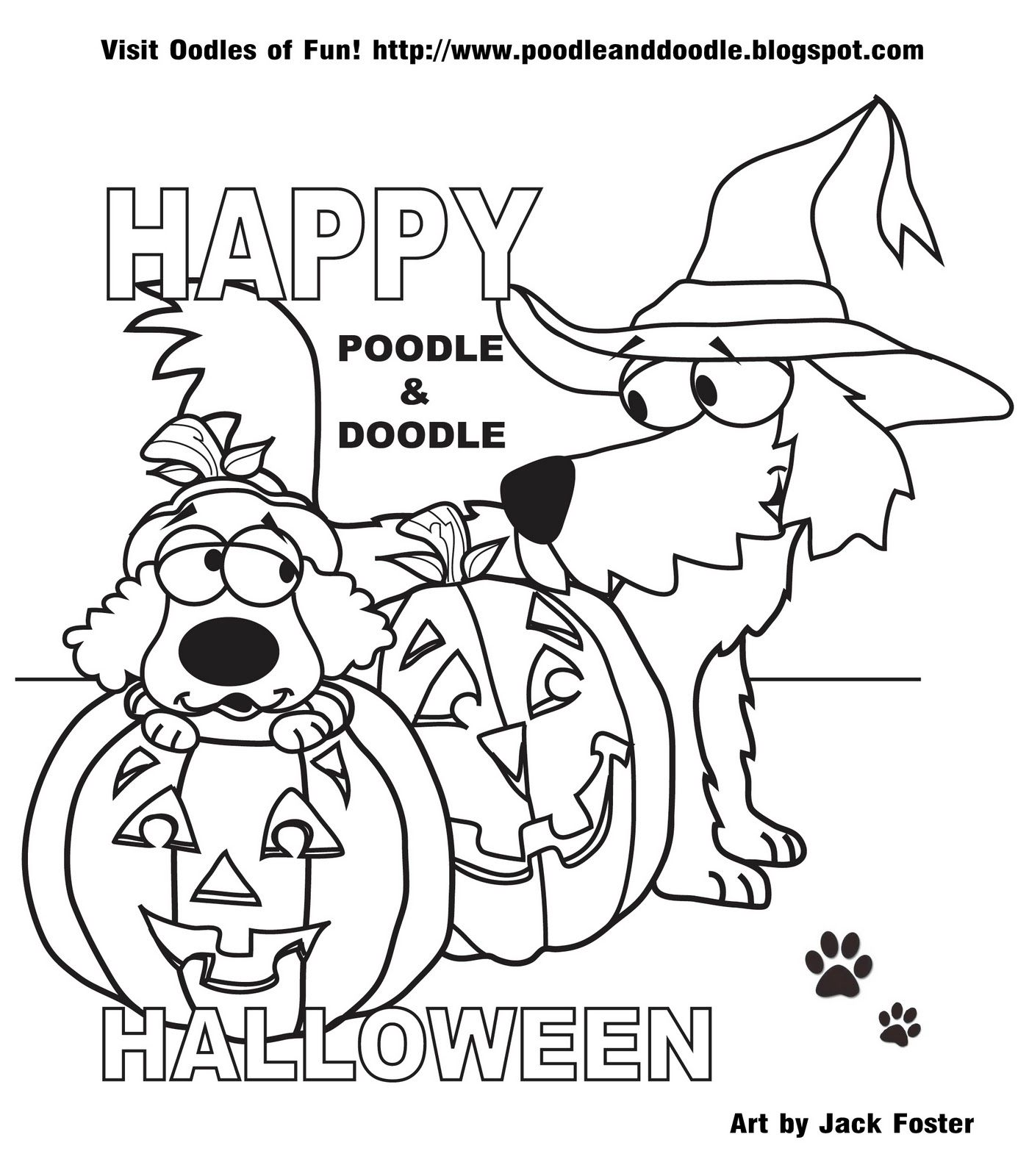 Poodle and Doodle say, \