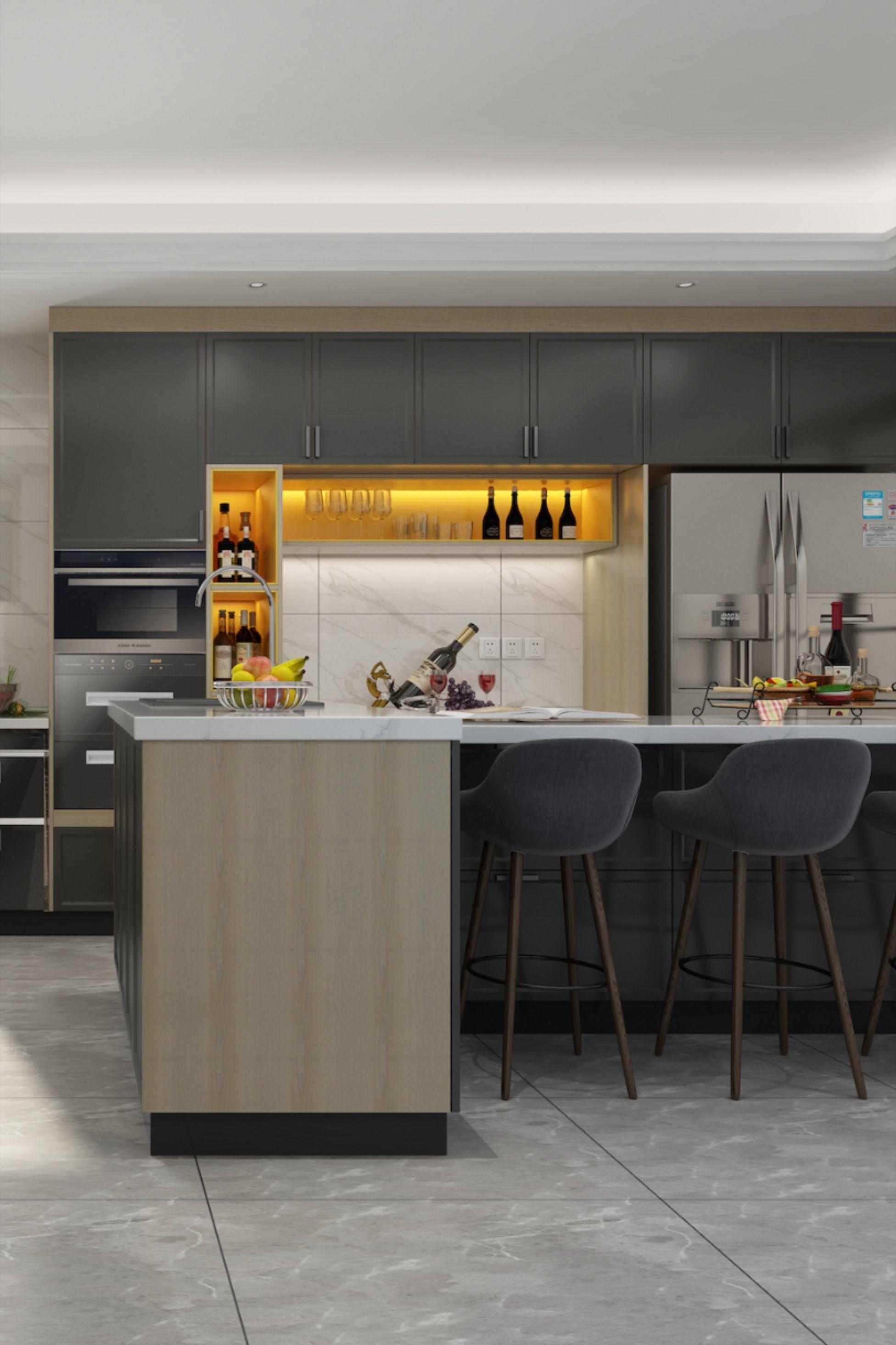 Pvc Blister Kitchen Cabinet Custom Kitchen Cabinets Wooden Kitchen Cabinets Custom Kitchen