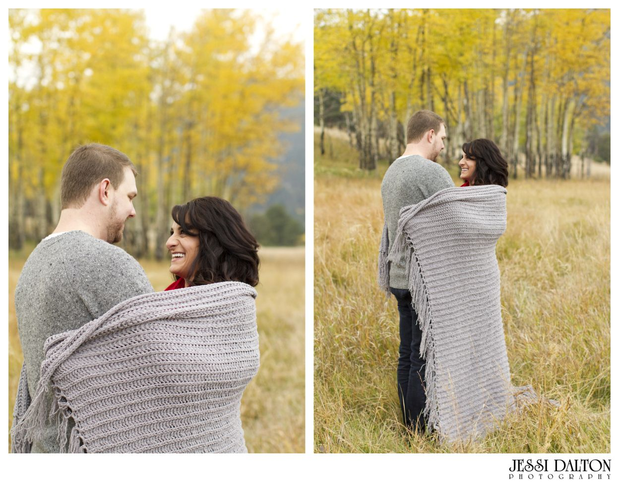 Fall Engagement Session in Evergreen, Colorado | Elk Meadows Open Space | Colorado Engagement | Jessi Dalton Photography | www.jessidalton.com