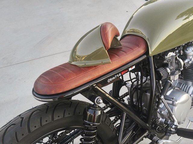 Kawasaki Cafe racer//Street Tracker Motorcycle Seat Honda Triumph Seat