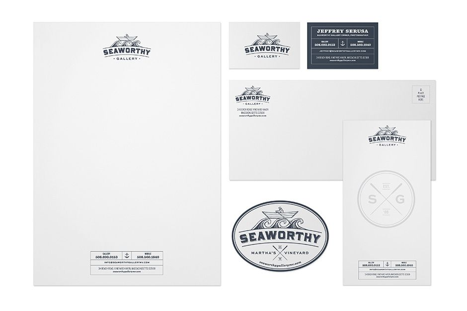Seaworthy Gallery About Us Our Work Photography Blog Contact SWG_Shirt_Rack_Card_LR