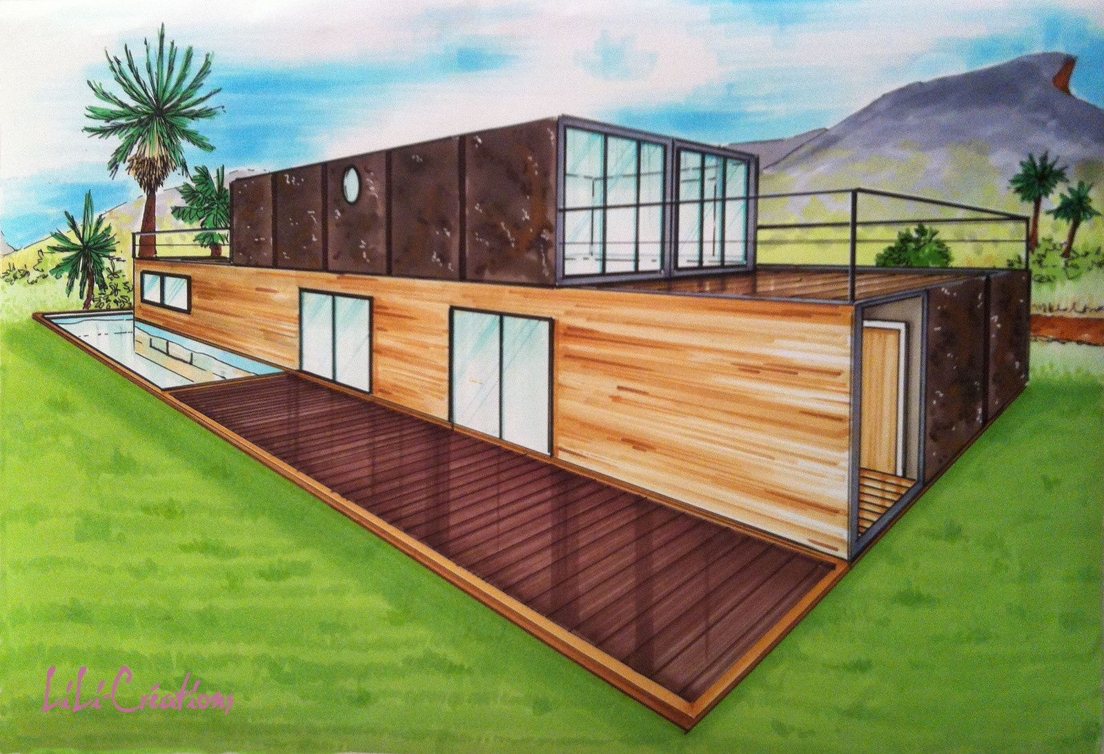 Best Kitchen Gallery: Simple Shipping Container House House Shipping Container Design of Simple Shipping Container House on rachelxblog.com