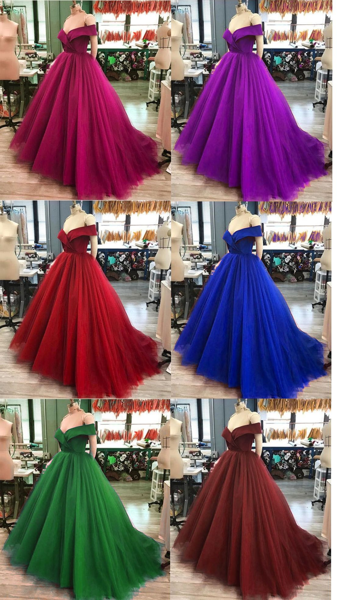 efa8d99cc42 2018 Quinceanera Dresses with Cap Sleeve Simple Satin Tulle Ball Gowns  Sweet 16 Dresses  purple  red  darkred  burgundy  royalblue  green  sweet16   quince