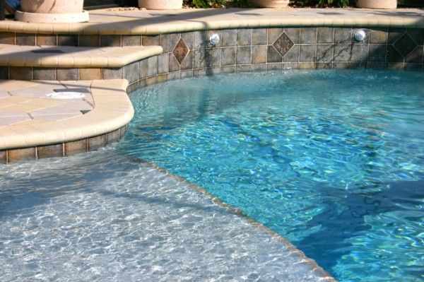 if youre designing a new pool or fixing up an old pool you have many choices for pool tile before you choose a color or style its best to choose the type - Swimming Pool Tile Designs