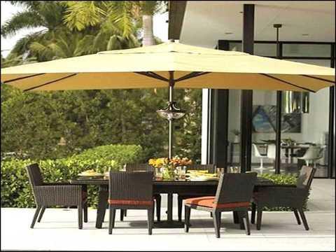 garden umbrella table hole ring