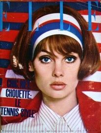 Jean Shrimpton - Elle Magazine Cover [France] (June 1965)