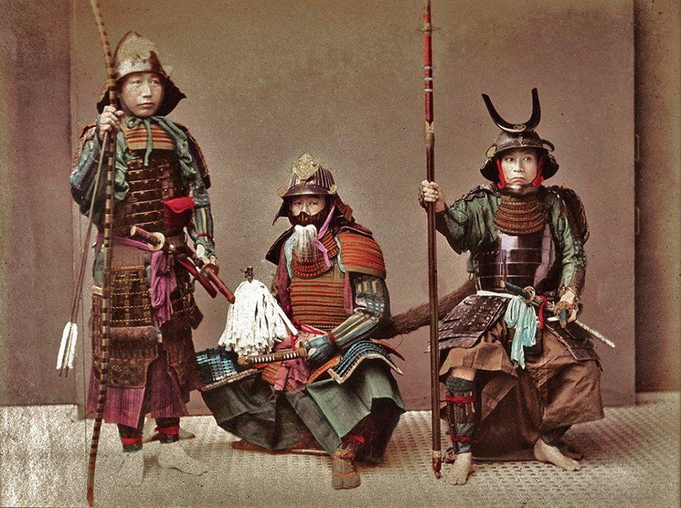 Samouraïs,  Japan 1870's