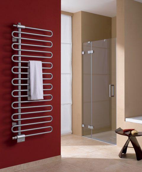 Design radiator - Badkamer design radiator - kermi icaro chroom ...
