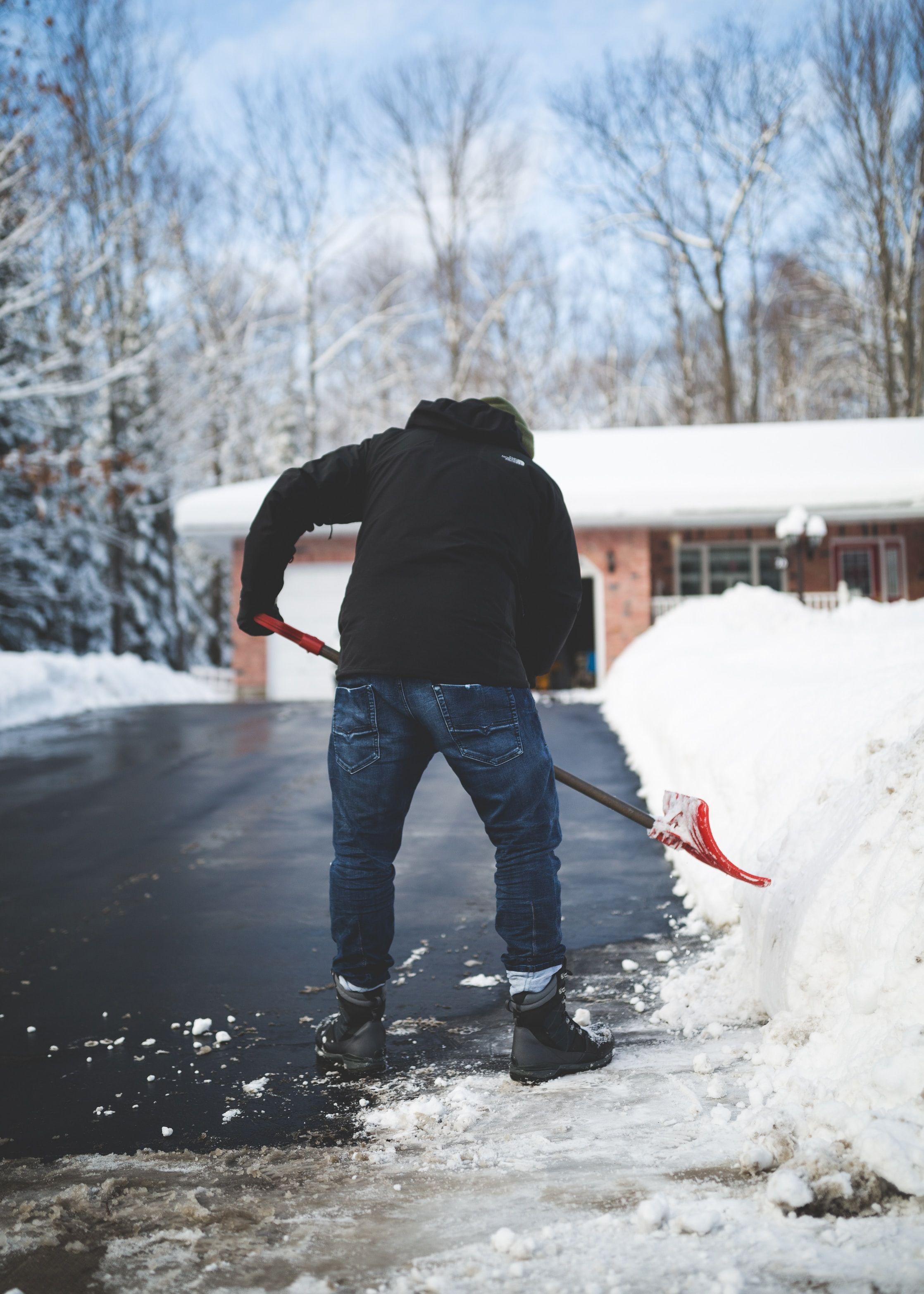 character building in 2020 shoveling snow shovel snow removal pinterest