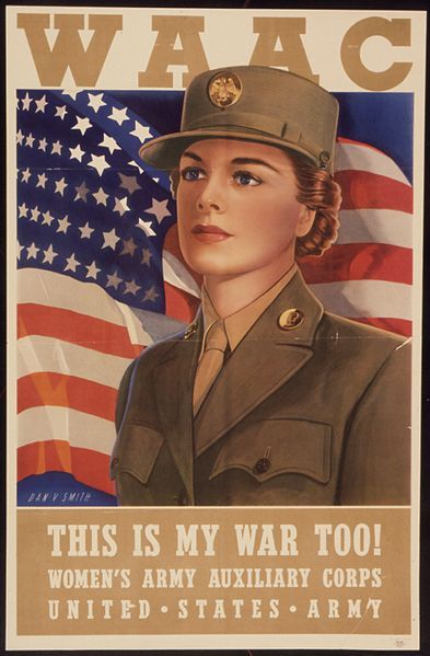 US Women's Army Auxiliary Corps established 15 May 1942.