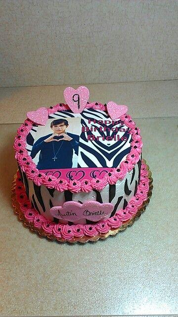 Austin Mahone Cake