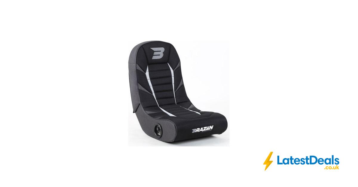 BRAZEN Python Wireless Bluetooth Gaming Chair Grey, £80