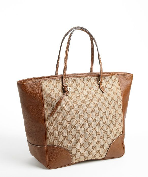 567c9d3154ce Gucci   beige guccissima brown leather tote   style   328280501 ...
