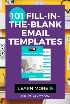 101 Fill-in-the-Blank Email Templates!   EMAIL MARKETING   Pinterest ...
