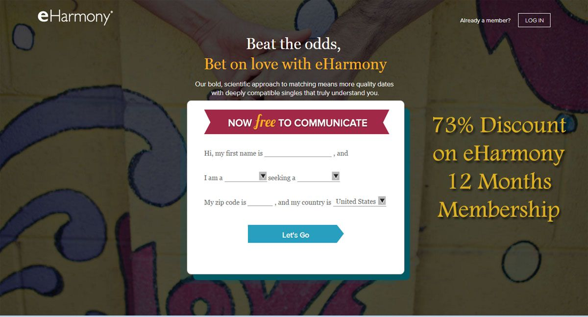 Eharmony coupon free