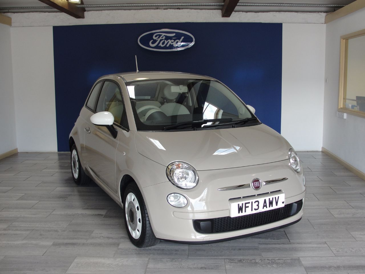 Now Sold Fiat 500 1 2 Colour Therapy 3dr Hatchback Petrol Beige