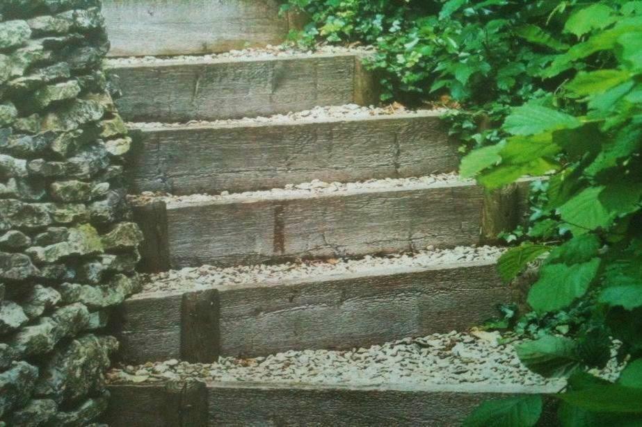 Costruire dei gradini in giardino cerca con google scalini in giardino pinterest tes - Scale da giardino ...