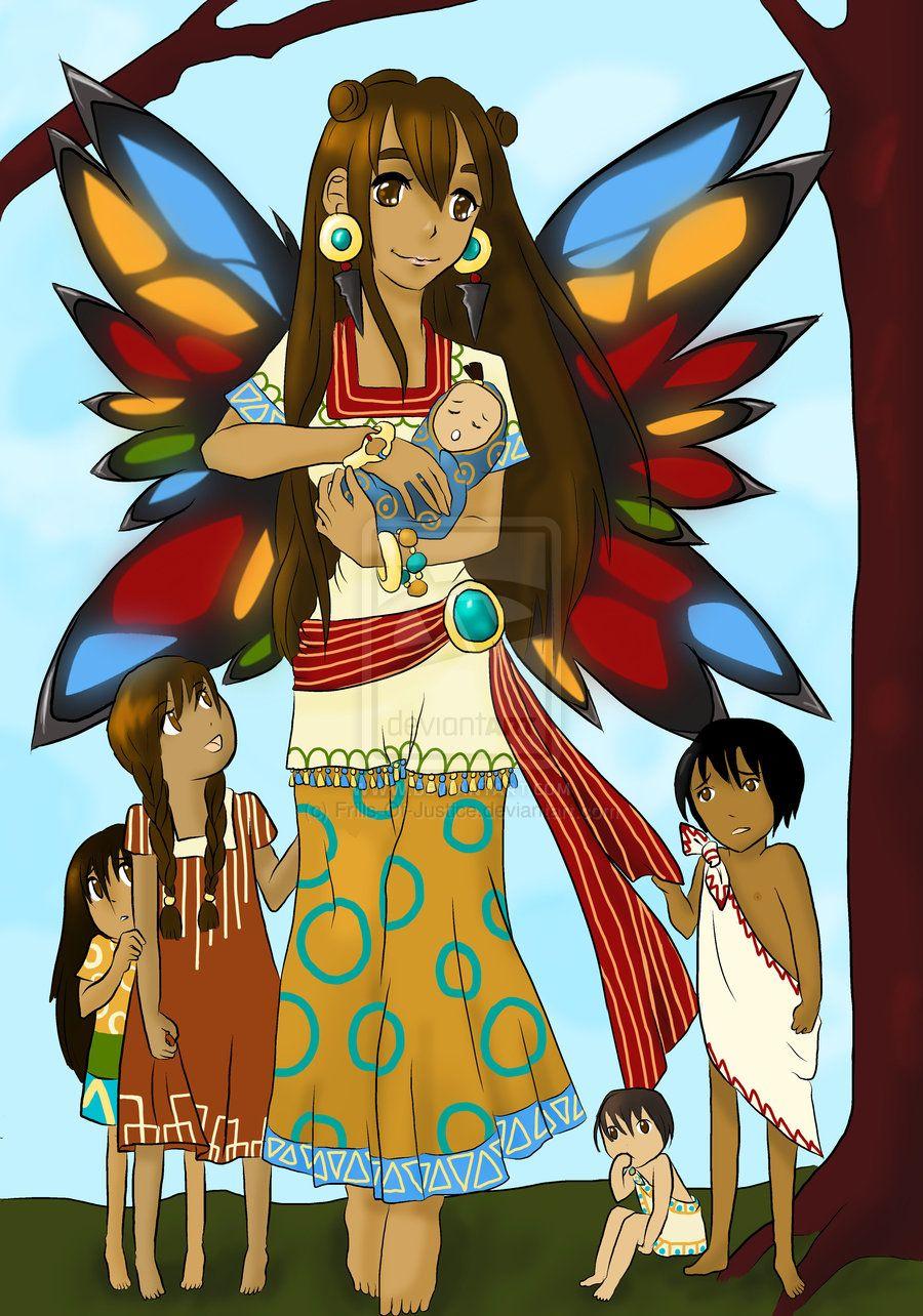 itzpapalotl aztec mexico pinterest