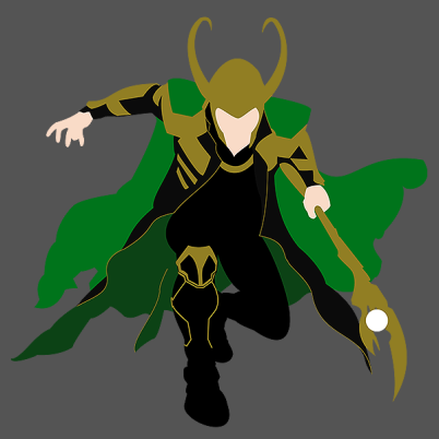 """TODAY'S TEE: """"Loki""""! Amazing shirt! Designed by nimbusnought. From $11! www.unamee.com."""
