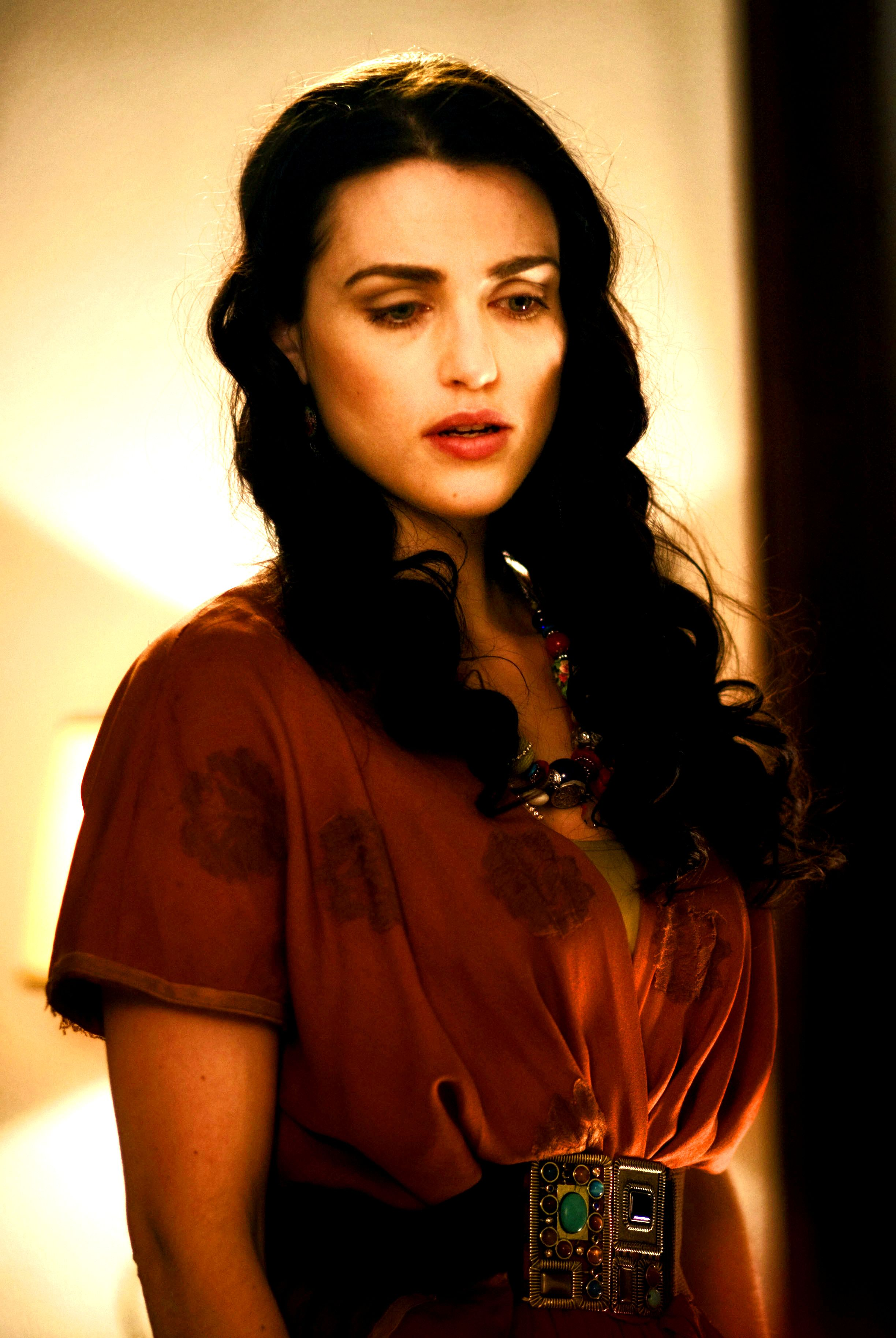 Katie McGrath in A Princess for Christmas. She wears some really ...