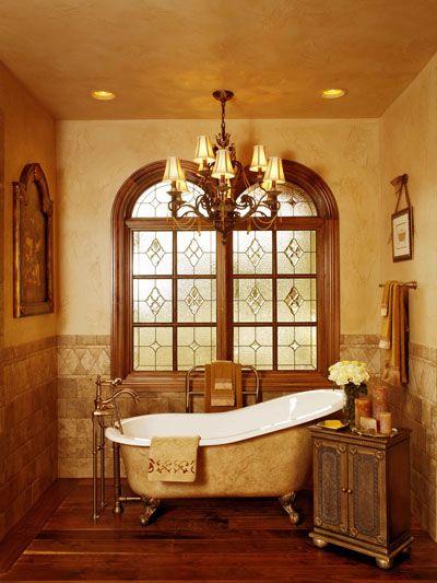 Houston Stained Glass Bathroom Windows - BSG 2 Architektur