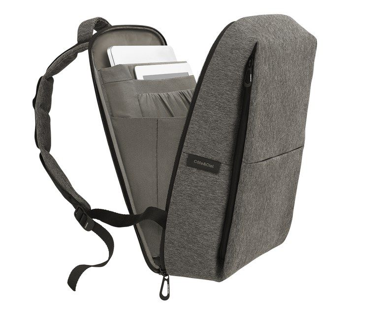 Côte & Ciel Rhine Eco Yarn Laptop Backpack need a new school backpack with  laptop section. something with no print and basic colours!