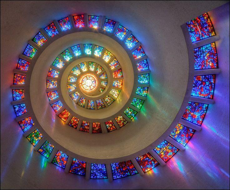 Thanksgiving Chapel Glory Window