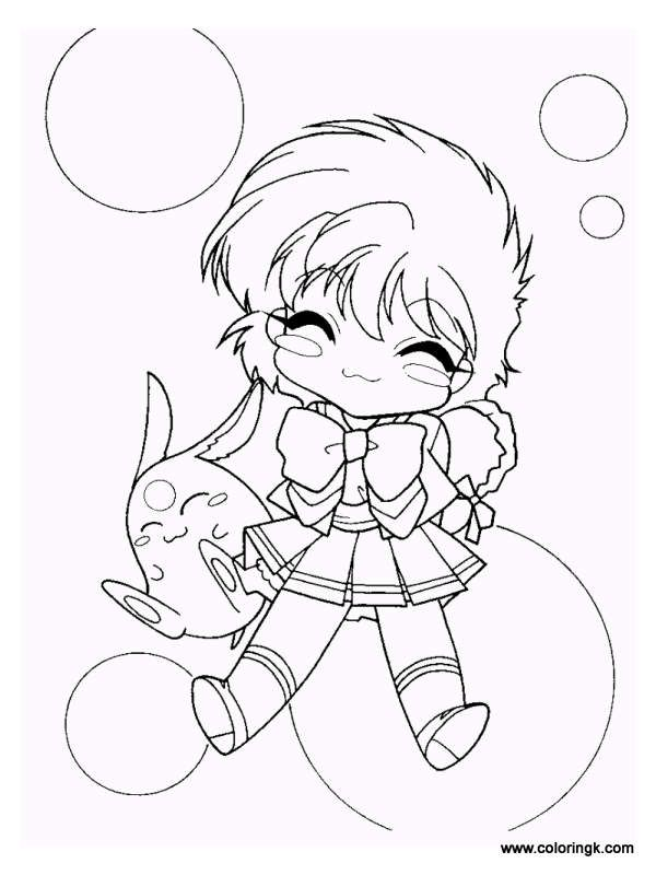 Magic Knight Rayearth Coloring Page 11 Coloring Book