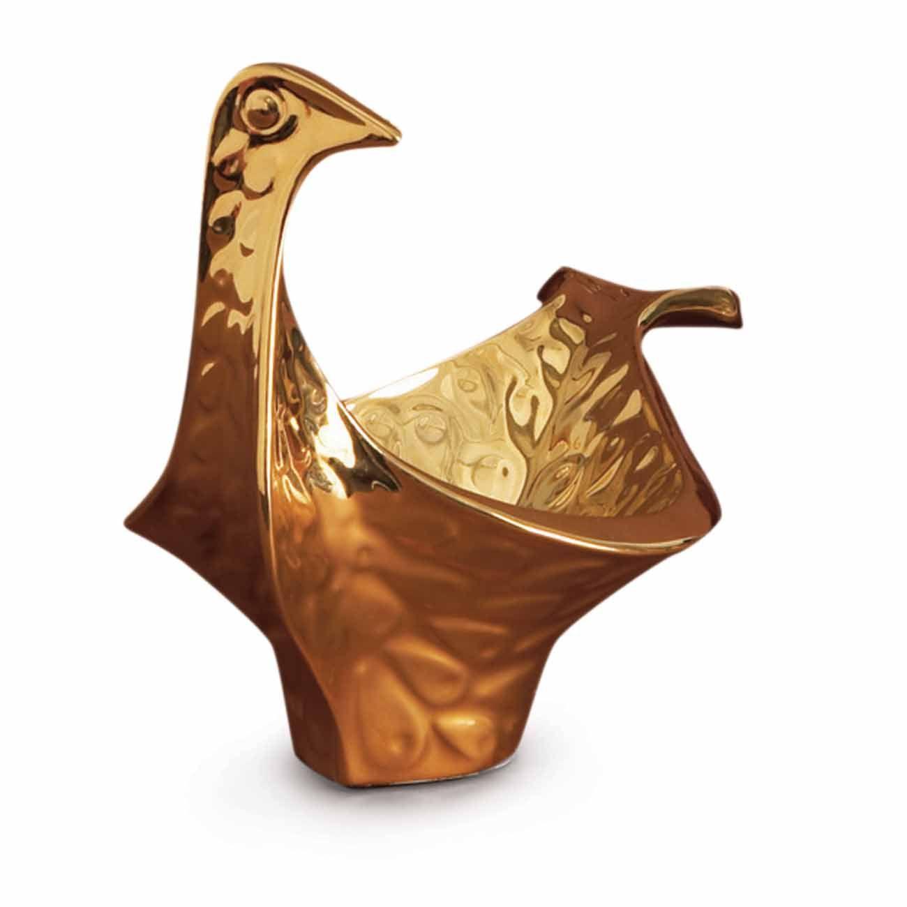 desiary.de - Schale Bird small, golden von Jonathan Adler
