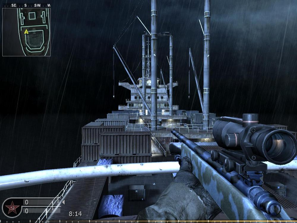 Wet Work Is A Medium Sized Multiplayer Map Featured In Call Of