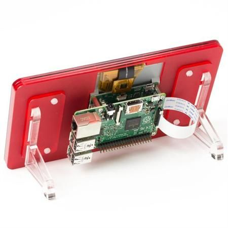 Pimoroni Pi Touchscreen Coupe Frame at MCM Electronics