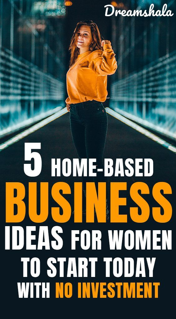 5 Lucrative Home Business Ideas For