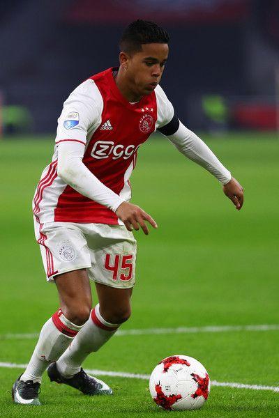 Justin Kluivert Photos Photos Afc Ajax V Ado Den Haag Eredivisie Transfer Rumours Afc Ajax Best Club