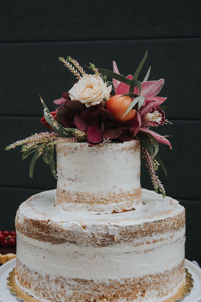 Herbstliche Hochzeitstorten Sweets Beerenfarbiges Pinterest