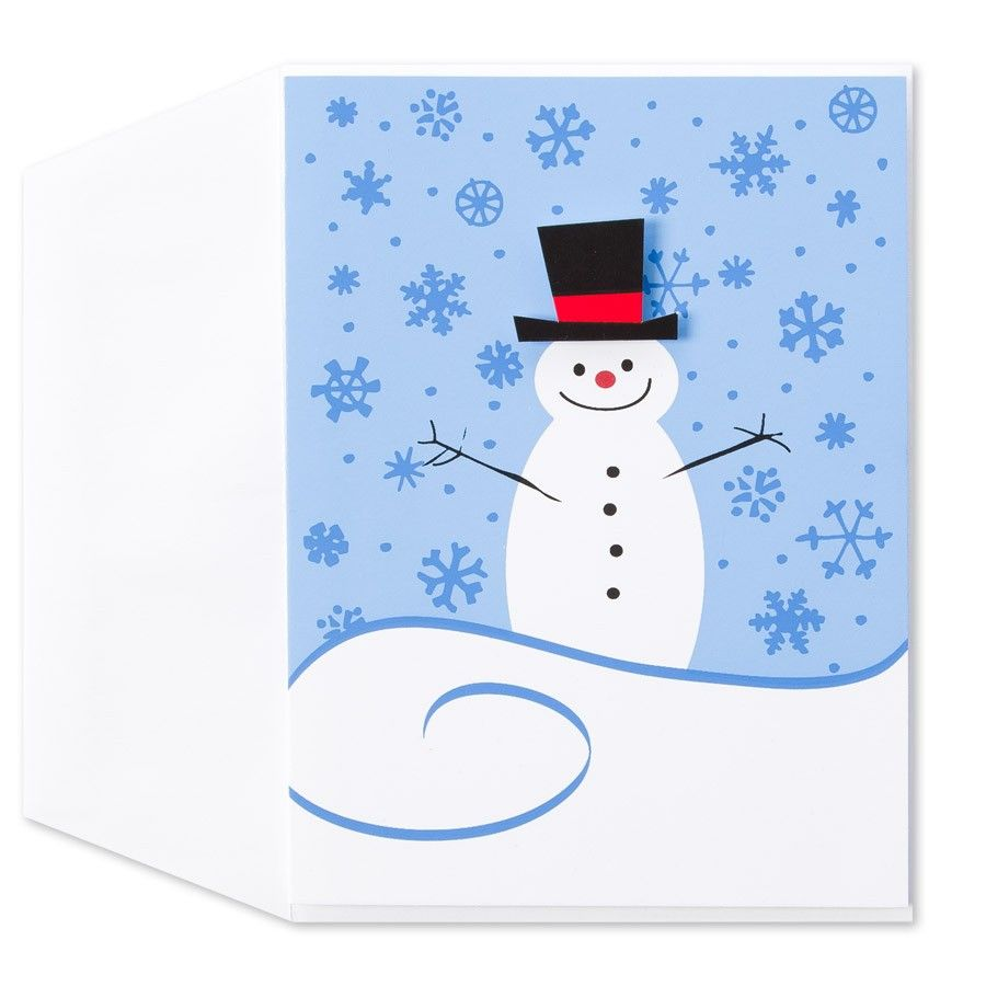Top Hat Snow Man Price $3.95 by Papyrus