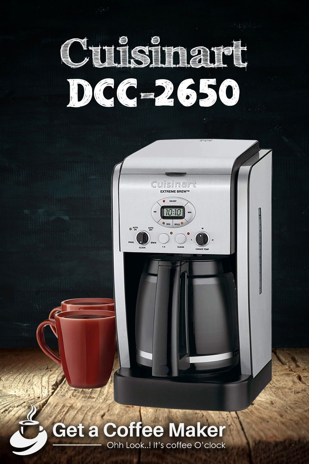 Cuisinart Dcc 2650 Brew Review Coffee Maker Reviews Coffee Maker Brewing