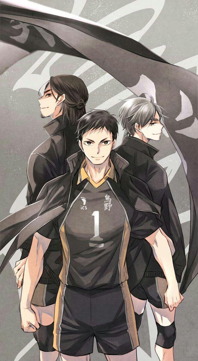 𝖄𝖔𝖚𝖗 𝖉𝖊𝖘𝖎𝖗𝖊 (Anime boys X reader) oneshots - Three Musketeers ☁️Daichi x Suga x Asahi x Reader☁️