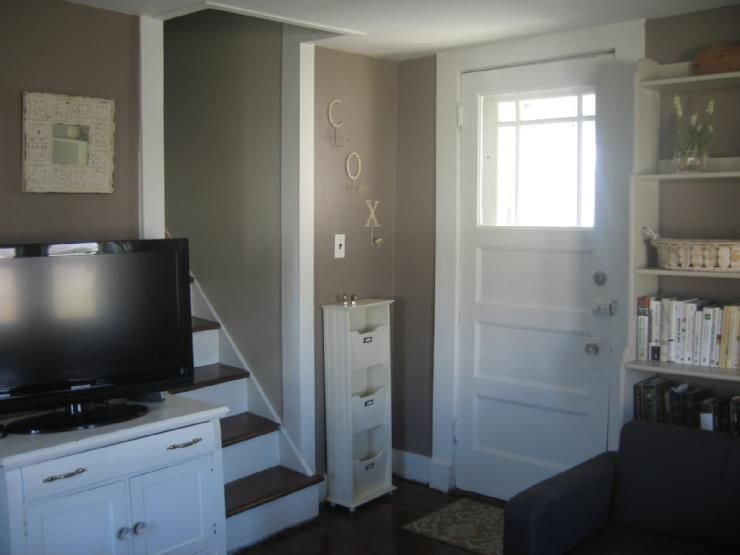 Wall paint ticonderoga taupe 992 by benjamin moore home sweet home pinterest benjamin - Wall taupe ...