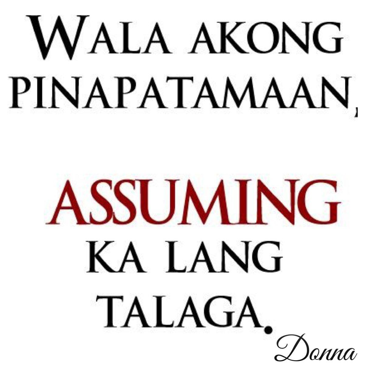 Pinoy Patama Love Quotes In Tagalog   Mga Patama Quotes