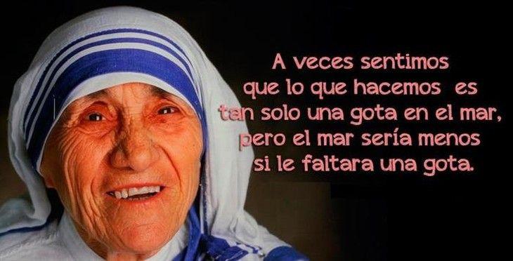 Palabras Madre Teresa Calcuta Posters Madre Teresa Frases De La