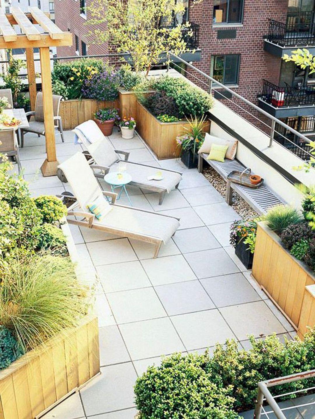 12+ Beautiful Home Terrace Garden Ideas That Will Make You More Comfortable Relaxing