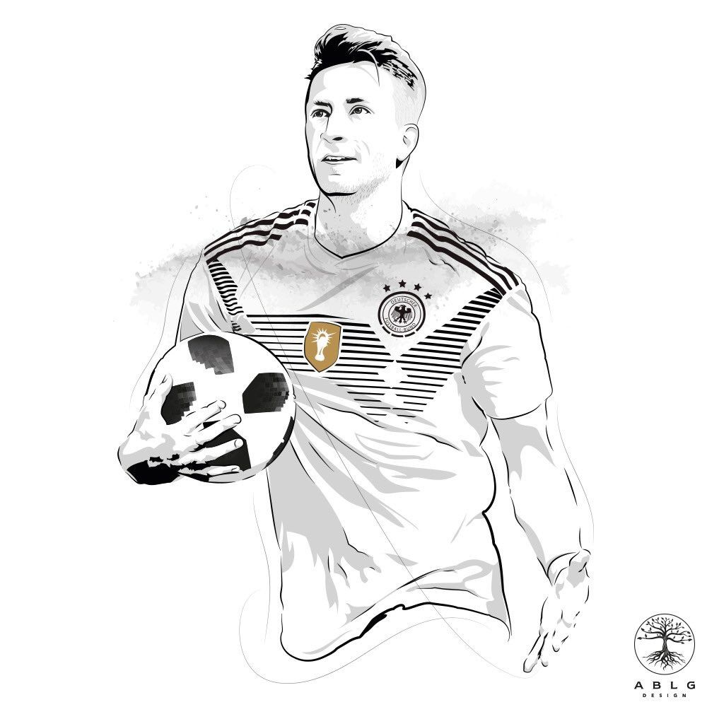 Very Talented And Underrated Germany S Marco Reus Credit To Ablgdesign On Twitter For Drawing This Check Them Out Caes Sorridentes Desenhos Caes