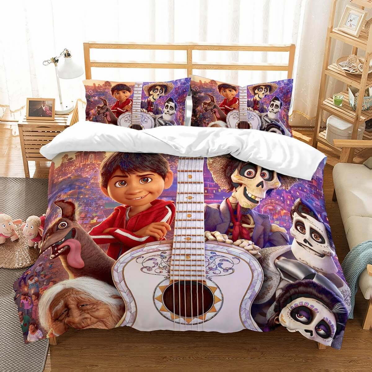 3D Customize Coco Bedding Set Duvet Cover Set Bedroom Set ...