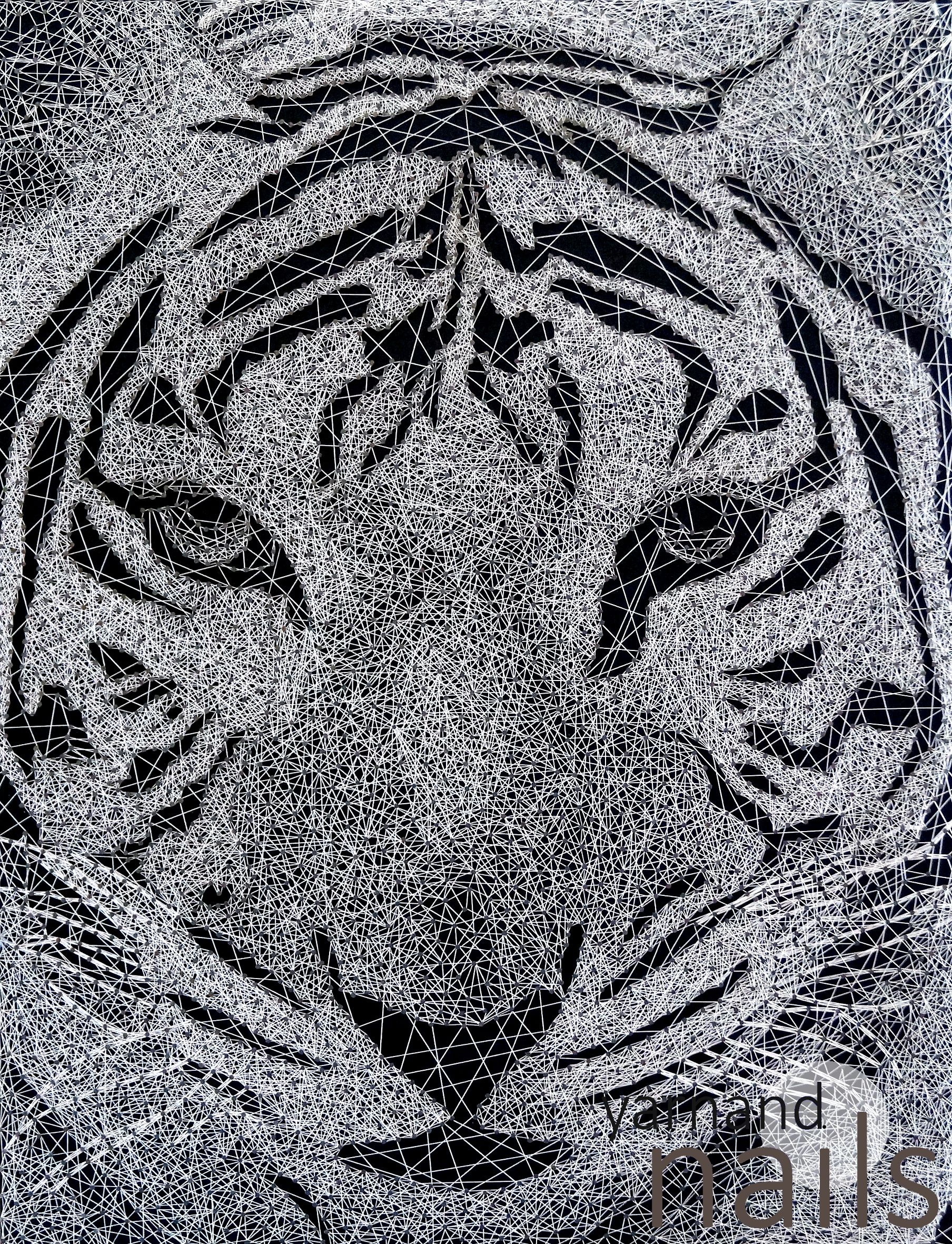 nr. 31 the tiger - string art | Нитяна графіка | Pinterest ...
