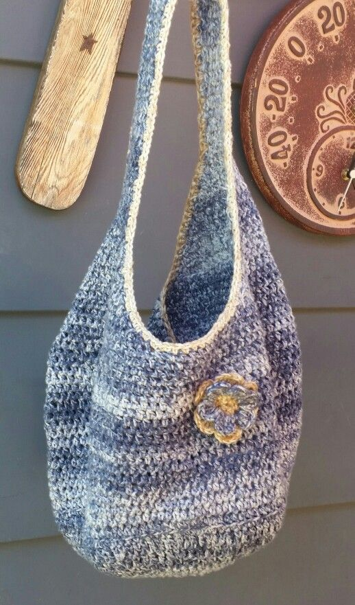 Hobo bag with flower...for my daughter.