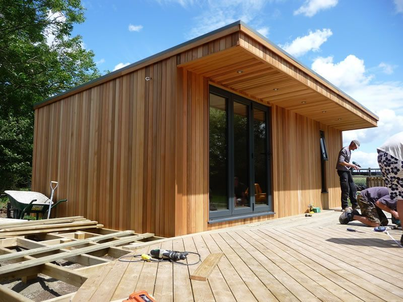 timber clad contemporary porch - Google Search ...