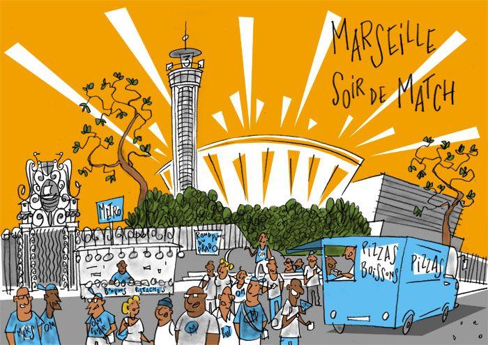 Philippe Doro Marseille Soir De Match Au Stade Vélodrome