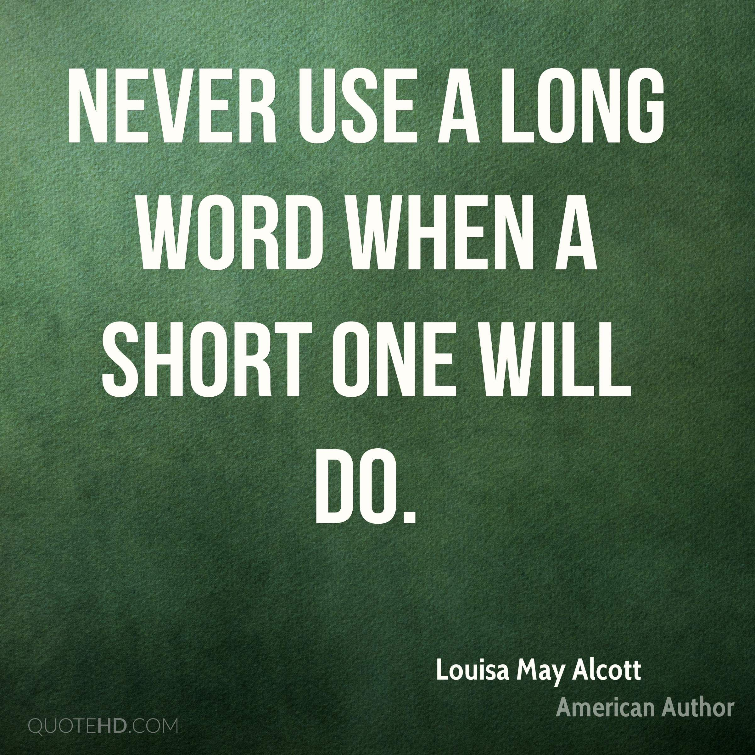 Louisa May Alcott Quotes Quotehd Words Of Wisdom Quotes